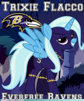 Trixie Flacco - Everfree Ravens