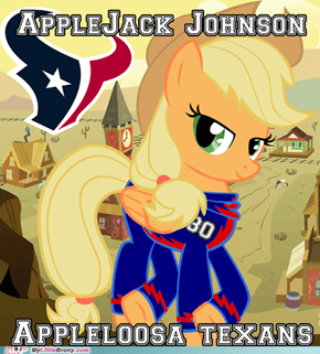 Applejack Johnson - Appleloosa Texans