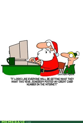 Santa´s in trouble ... with the internetz
