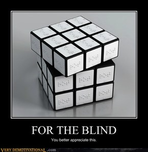 FOR THE BLIND