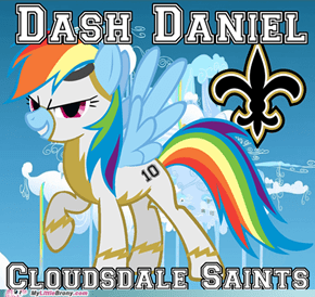 Dash Daniel - Cloudsdale Saints