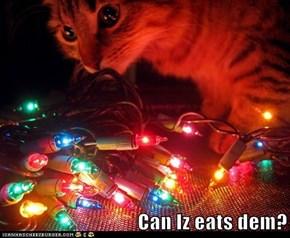 Can Iz eats dem?