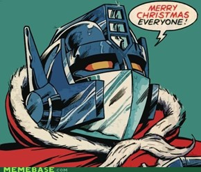 Happy Holidays from Cybertron!