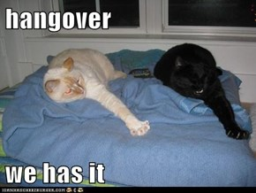 hangover   we has it