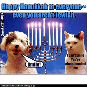 Happy Hanukkah to everyone ~ even you aren't Jewish.