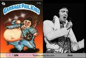 GPK Totally Looks Like Elvis