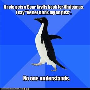Socially Awkward Penguin: Now Everyone Thinks I Drink My Pee