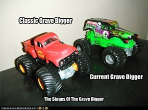 The Grave Digger Evolution
