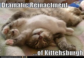 Dramatic Reinactment   ...of Kittehsburgh