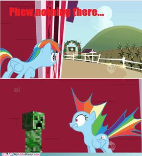 Every Minecrafter's Worst Nightmare