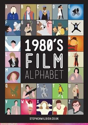 1980's Film Alphabet