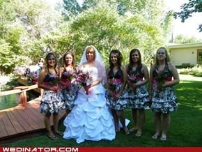 Busy Balloon Bridesmaids