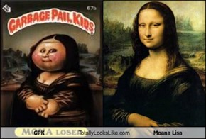 GPK Totally Looks Like Moana Lisa