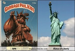 GPK Totally Looks Like Statue of Liberty