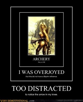 TOO DISTRACTED