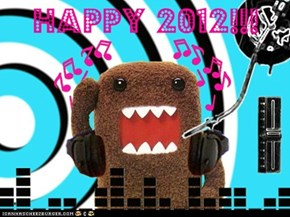 Happy 2012 from Domo!!!
