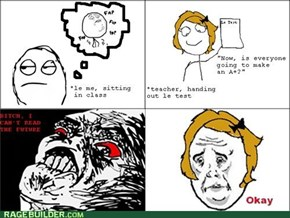 Rage Comic: Mind Reading Is Next Period
