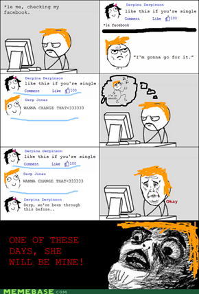 Rage Comic: One Of These Days