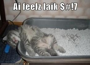 Ai feelz laik $#!7