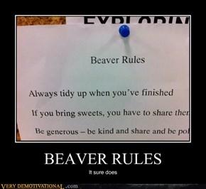 BEAVER RULES