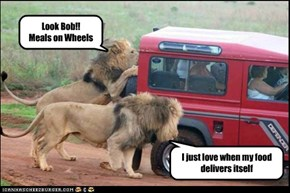 Look Bob!! Meals on Wheels