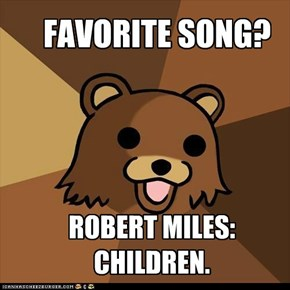 Pedobear loves trance