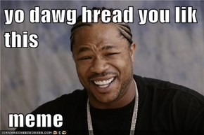 yo dawg hread you lik this   meme