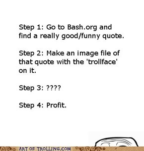 How to make it onto Art of Trolling
