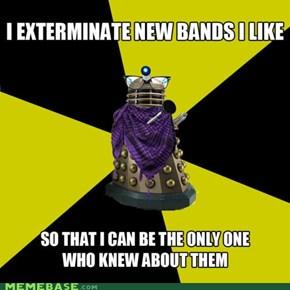 Hipster Dalek