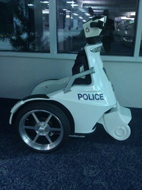 Cops, They really do ride Big Wheels