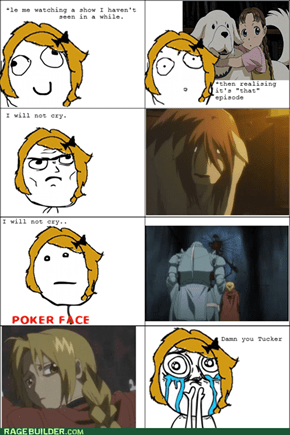 Only FMA fans will understand my pain.