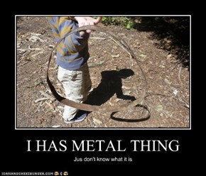 I HAS METAL THING
