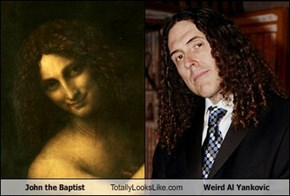 John the Baptist Totally Looks Like Weird Al Yankovic