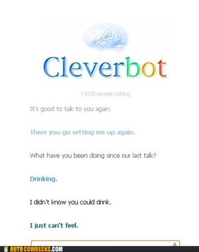 Cleverbot spreads the love
