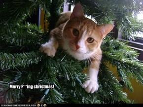 Merry F***ing christmas!