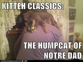 KITTEH CLASSICS:  THE HUMPCAT OF NOTRE DAD