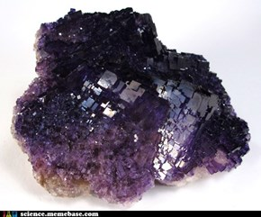 Fluorite Would Make Sweet Bling