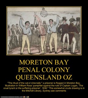 MORETON BAY PENAL COLONY  QUEENSLAND OZ