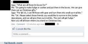 Failbook: Surviving the Holidays