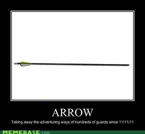 Very Demotivational: ARROWED