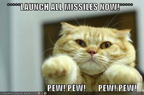 *****LAUNCH ALL MISSILES NOW!*****                            PEW! PEW!       PEW! PEW!