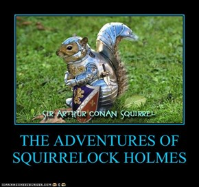 THE ADVENTURES OF SQUIRRELOCK HOLMES