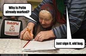 In Non-Soviet Russia...