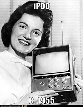 iPOD  C. 1955