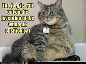 The jury is still out on the invention of the whoopie cushion cat