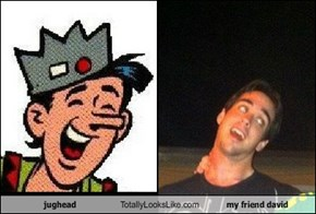 jughead Totally Looks Like my friend david