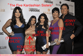 The Five Kardashian Sisters