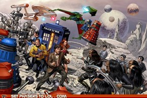 Star Trek and Doctor Who Team Up