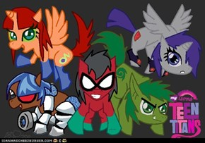 My little teen titans