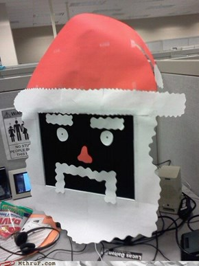 Sorry Steve, Santaputer has a virus and has deleted everything